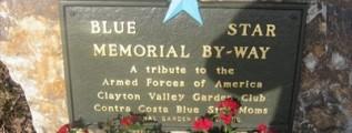 Blue Star Memorial Marker Dedications